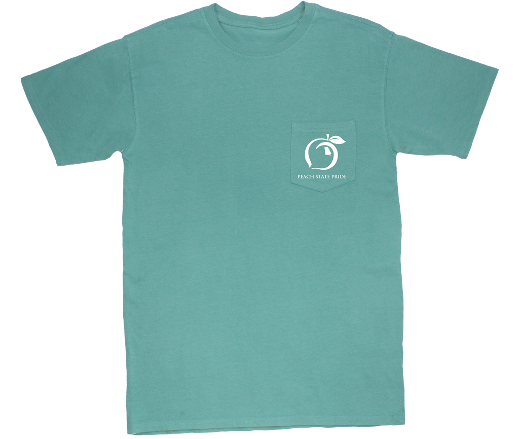 Georgia Streamer Short Sleeve Pocket Tee