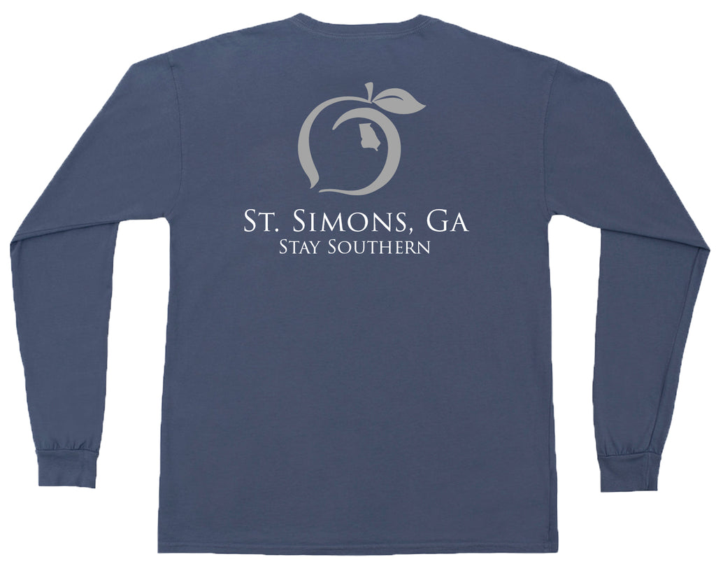 St. Simons, GA  Long Sleeve Hometown Tee
