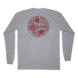 Florida State Seal Long Sleeve Pocket Tee