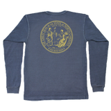 NC Co. State Seal Long Sleeve Pocket Tee