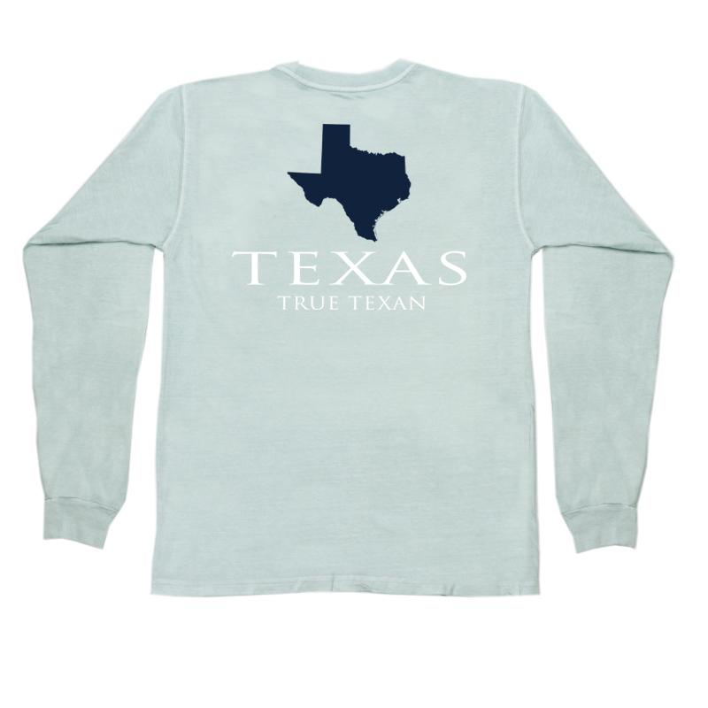 Texas Classic True Texan Long Sleeve Pocket Tee