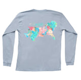 The South Watercolor Long Sleeve Tee