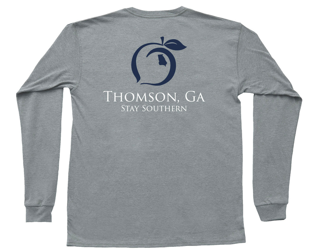 Thomson, GA Hometown Long Sleeve Pocket Tee