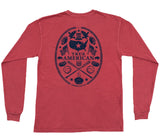 American Co. True American Montage Long Sleeve Pocket Tee