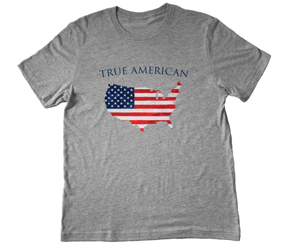 American Co. True American USA Flag Short Sleeve Tee