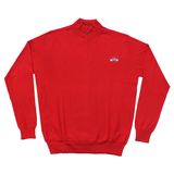VSU Cotton/Cashmere Pullover Red