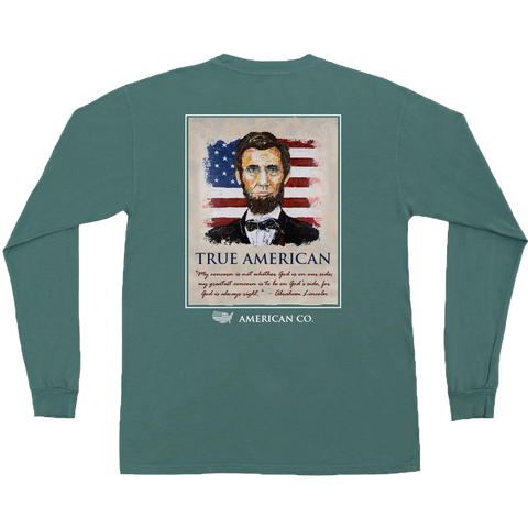 George H.W. Bush Long Sleeve Pocket Tee