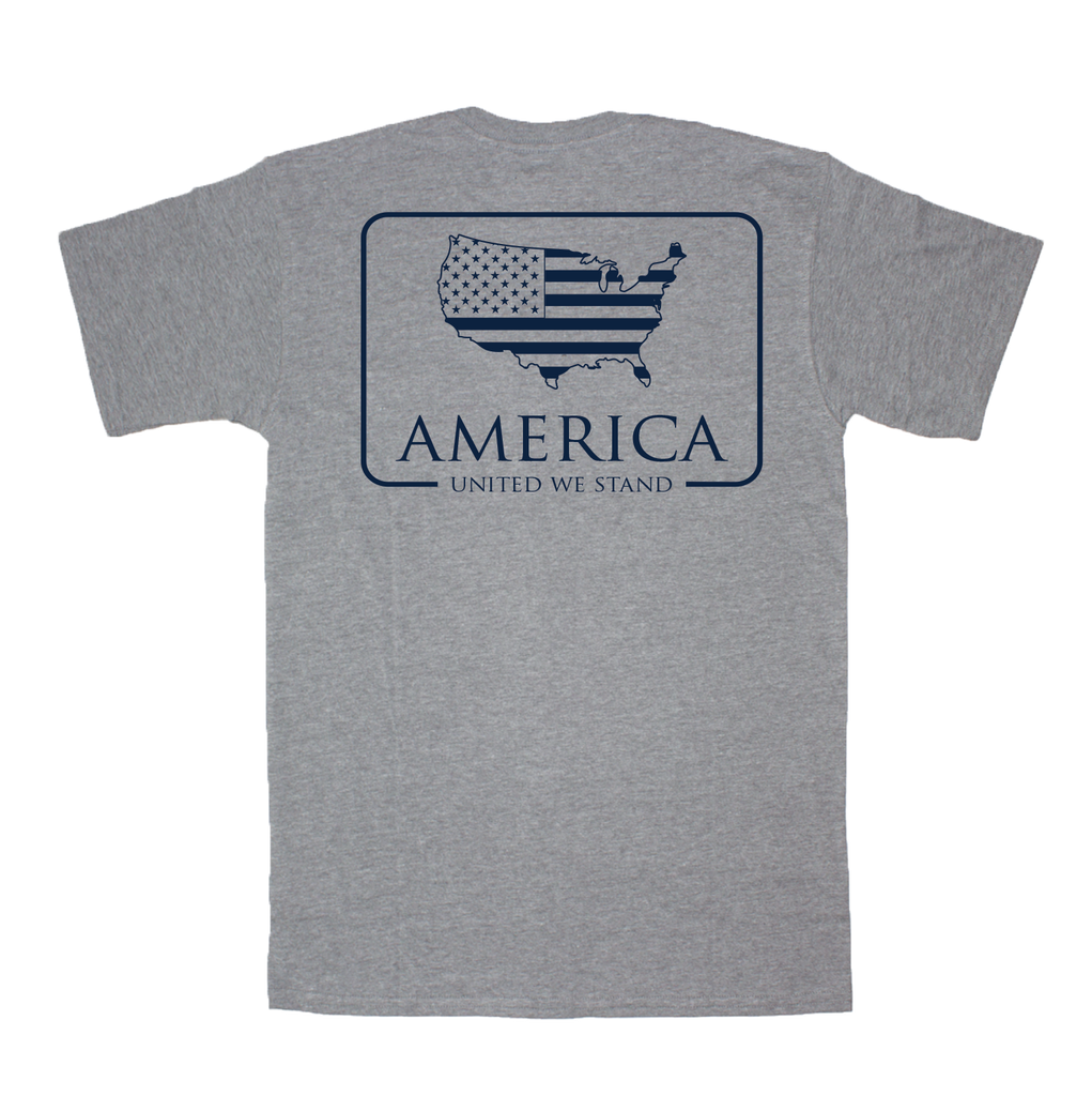 American Co. American Patch Short Sleeve Pocket Tee