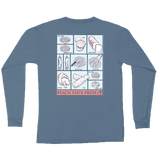 Georgia BBQ Long Sleeve Pocket Tee (Scented!)