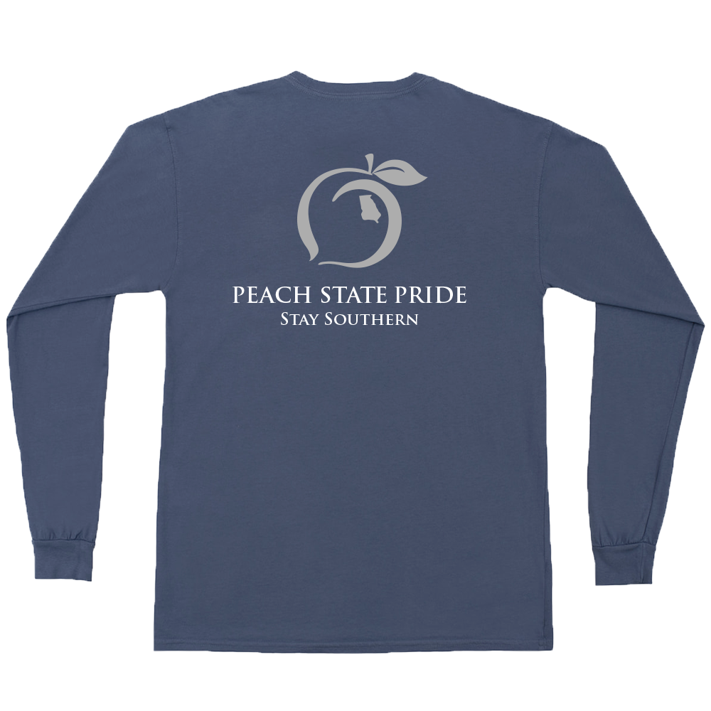 Classic Stay Southern Long Sleeve Pocket Tee