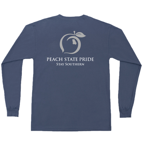 Peach State Pride 'Peches' Short Sleeve Pocket Tee