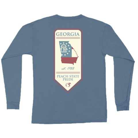 Georgia Streamer Short Sleeve Tee