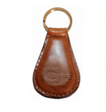 Georgia Tech Leather Key Fob