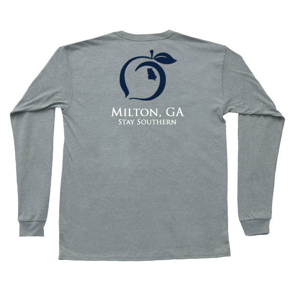 Milton, GA Long Sleeve Hometown Tee