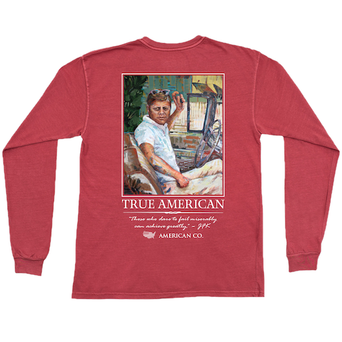 JFK Long Sleeve Pocket Tee
