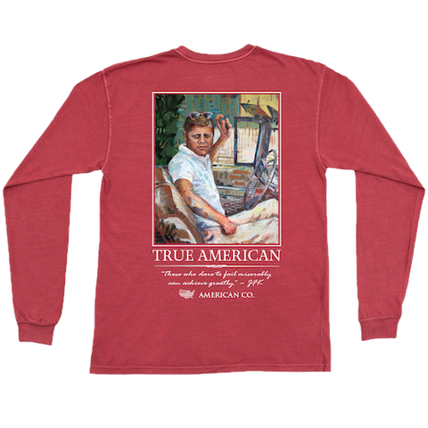 Harvest Peach Long Sleeve Tee