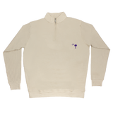 South Carolina Khaki Cotton Pullover - Purple Logo