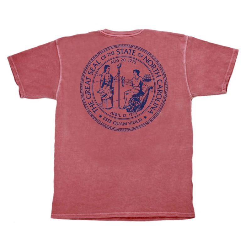 NC Co. State Seal Short Sleeve Pocket Tee