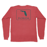 Florida Patch Long Sleeve Pocket Tee