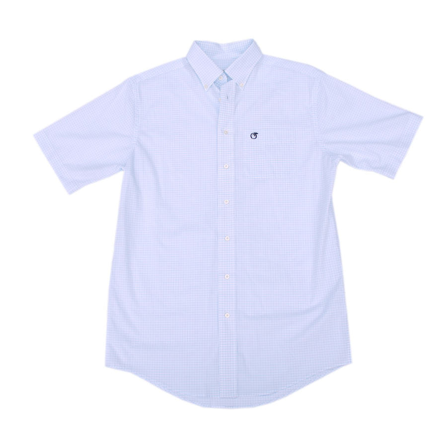 Short Sleeve Sapelo Button Down