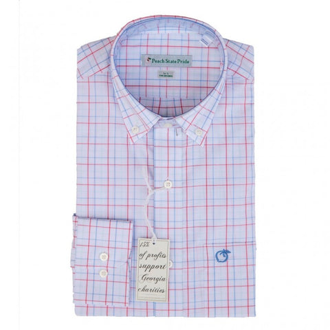 Frederica Lightweight Button Down