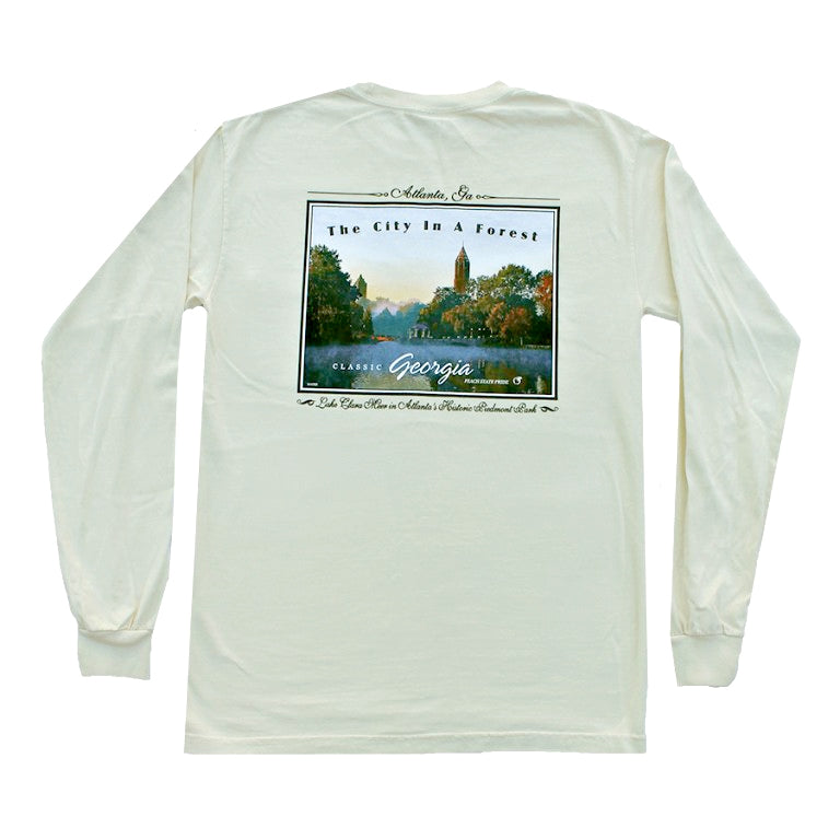 City in a Forest Long Sleeve Tee