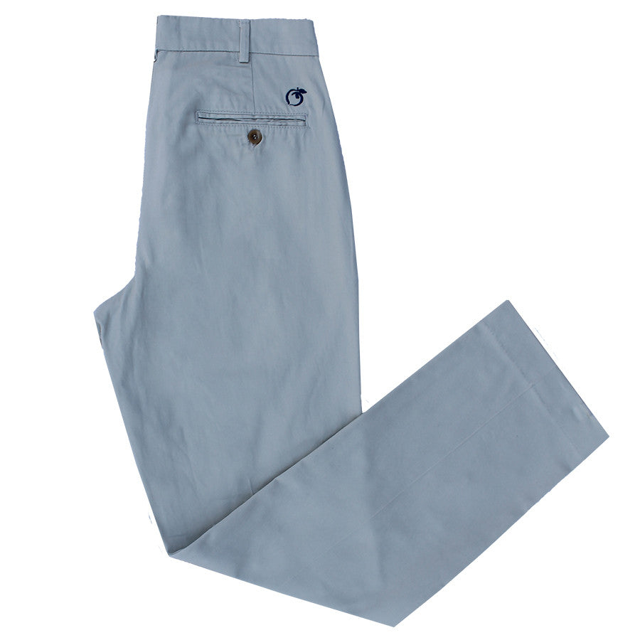 Khaki and Navy Cotton Twill Pants