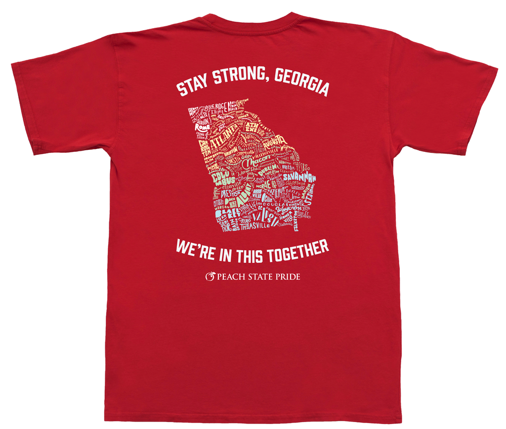 Stay Strong Georgia Short Sleeve Pocket Tee