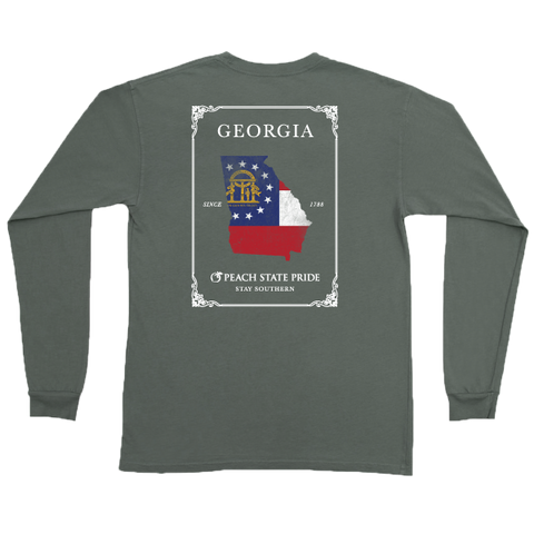 Douglas, GA Long Sleeve Hometown Tee