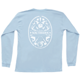 Southern Montage Long Sleeve Pocket Tee