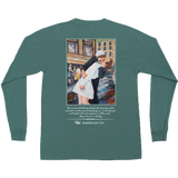 Time Square Kiss Long Sleeve Tee