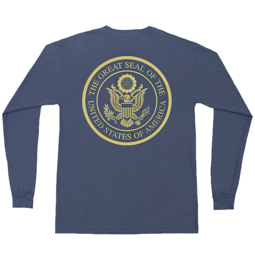 U.S. Seal Long Sleeve Tee
