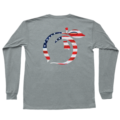 Georgia Patch Long Sleeve Tee