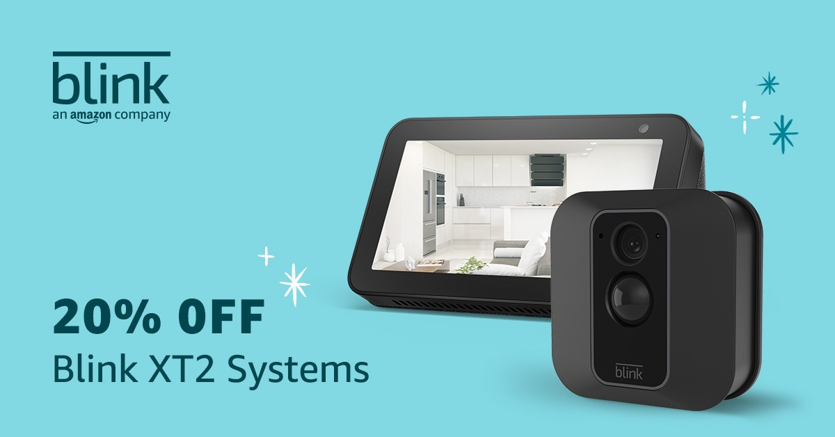 Trusted Reviews say the Blink XT2 and Echo Show 5 sale is the best home security bundle available