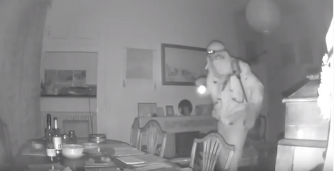 Blink cameras help police successfully catch a burglar in the act