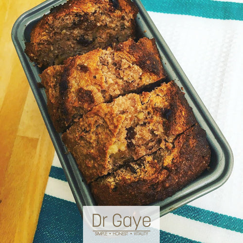 Healthy Banana Bread Recipe - Sugar Free & Gluten Free