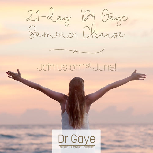21-Day Dr Gaye Summer Cleanse