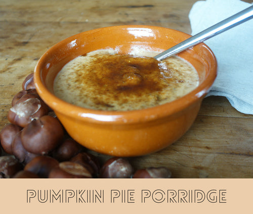 Pumpkin Pie Porridge recipe....