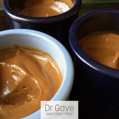 Raw Vegan Dairy-free Chocolate Mousse Recipe - Dr Gaye