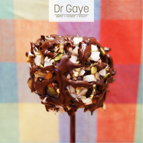 Dr Gaye - Raw Toffee Apple Recipe