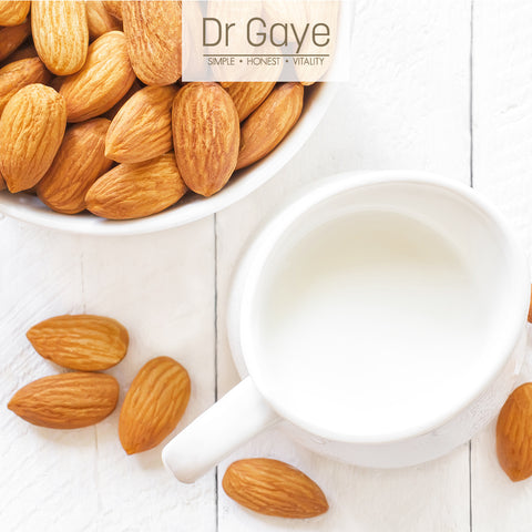 Dr Gaye Homemade Almond Milk Recipe