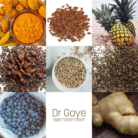 Dr Gaye - Anti-inflammatory foods and superfoods