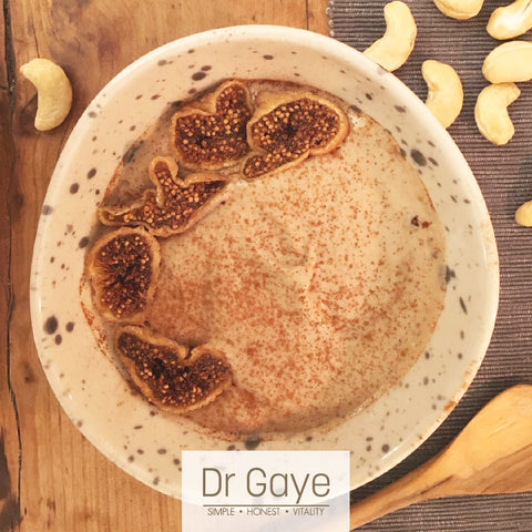 Dr Gaye - Cashew & Fig Cream Pudding