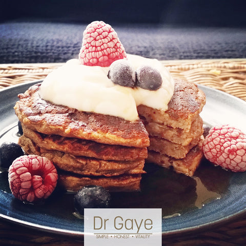 Pancake Day - Dr Gaye Super-Porridge Pancake Recipe