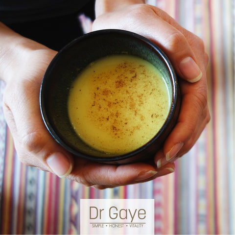 Dr Gaye Super-Golden Turmeric Latte Golden Milk