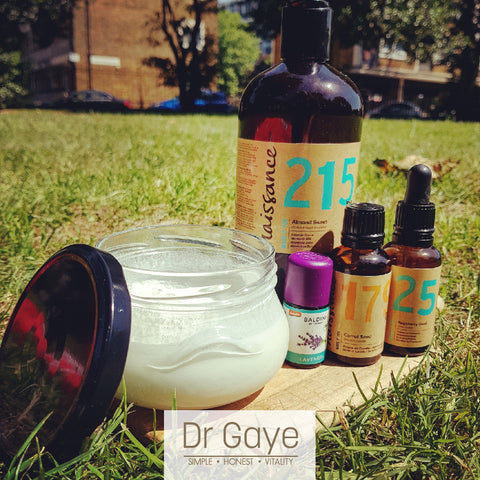 DIY Sun Cream - homemade all-natural sunscreen - Dr Gaye
