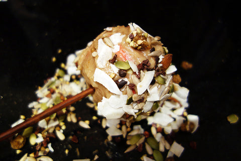 Dr Gaye - Raw Toffee Apple Recipe - Super-Spoonful
