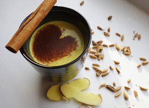 Dr Gaye Super-Golden - instant golden milk turmeric latte - superfood blend - health food products - natural raw organic