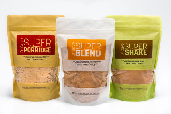Super Blend, Super Porridge and Super Shakes