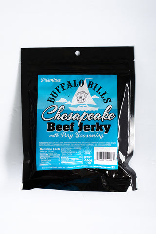 Buffalo Bills Premium Chesapeake Beef Jerky, Beef Jerky, Jesse's Specialty Snacks & Gifts, Jesse's Specialty Snacks & Gifts - Jesse's Specialty Snacks & Gifts